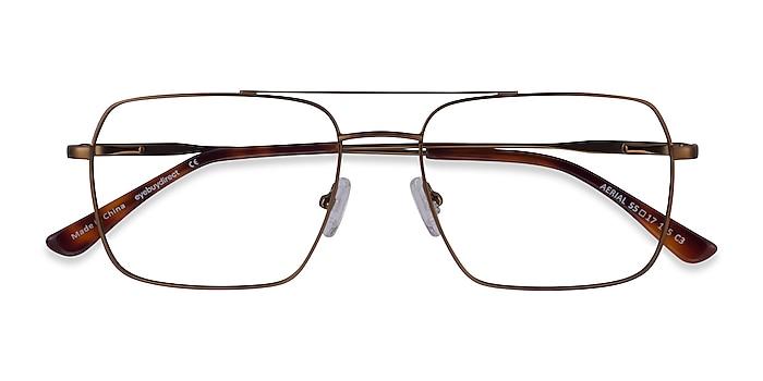 Bronze Aerial -  Metal Eyeglasses