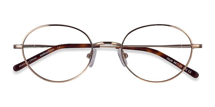 Rose Gold Film -  Geek Metal Eyeglasses