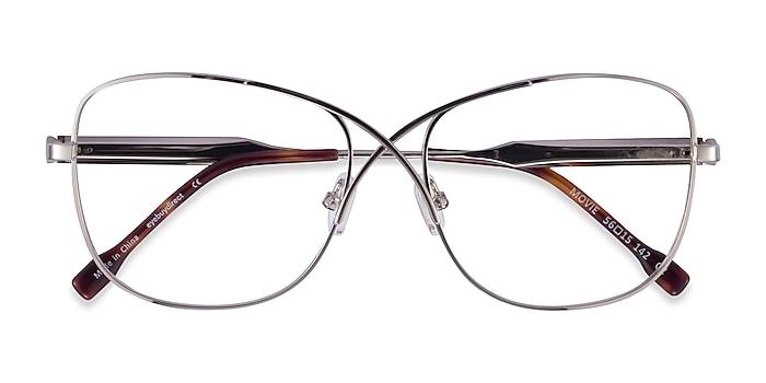 Silver Movie -  Metal Eyeglasses