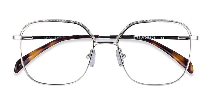 Silver Chai -  Metal Eyeglasses
