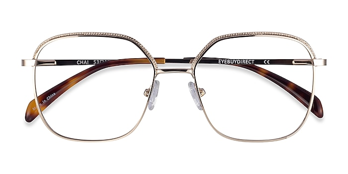 Light Gold Chai -  Metal Eyeglasses