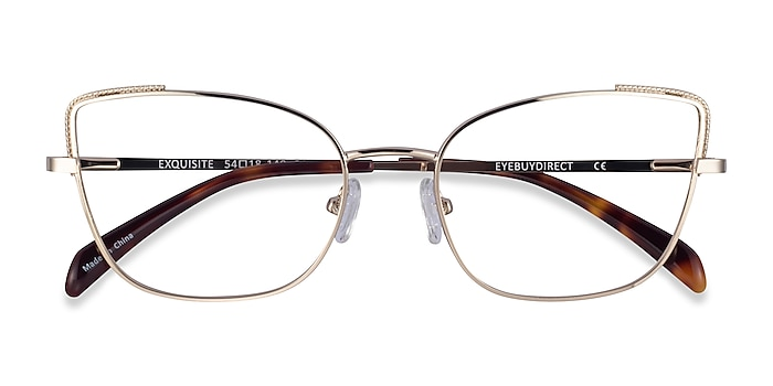 Gold Exquisite -  Metal Eyeglasses