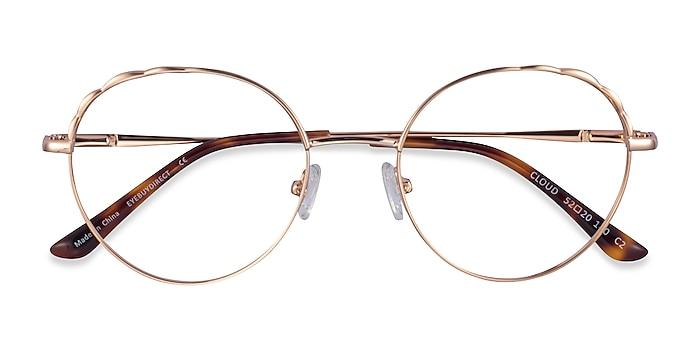 Rose Gold Cloud -  Metal Eyeglasses