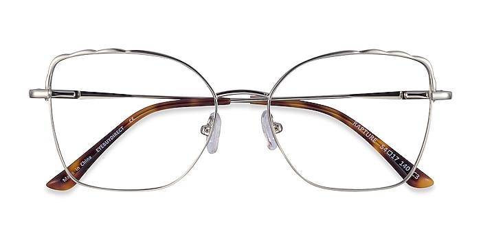 Silver Rapture -  Metal Eyeglasses