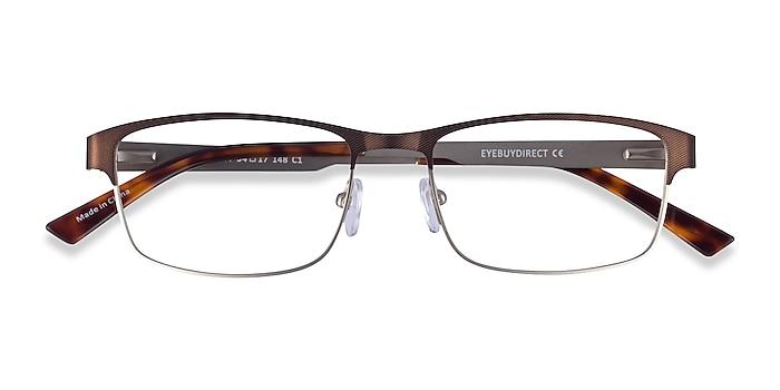 Bronze Silver Quest -  Metal Eyeglasses