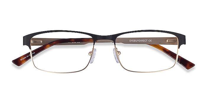 Black Gold Quest -  Metal Eyeglasses