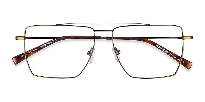 Bronze Perspective -  Metal Eyeglasses