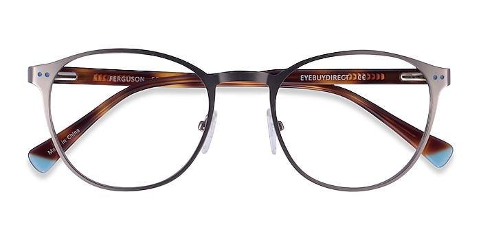 Gunmetal Tortoise Ferguson -  Acetate Eyeglasses