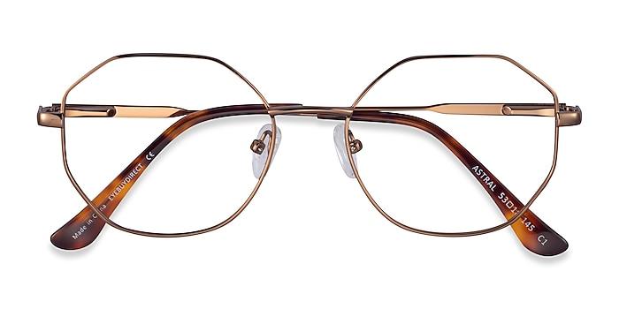 Bronze Astral -  Metal Eyeglasses