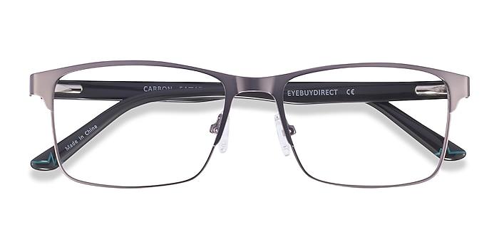 Matte Gunmatel Carbon -  Métal Lunettes de vue