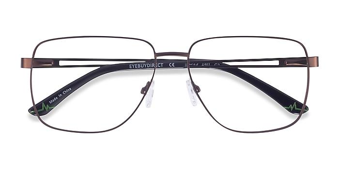 Bronze Hybrid -  Metal Eyeglasses