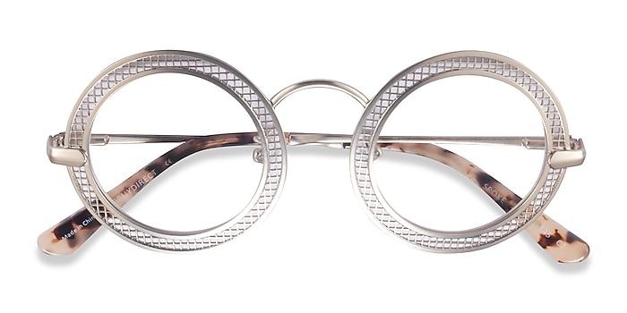 Matte Gold Spoke -  Metal Eyeglasses