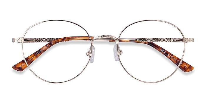 Gold Tortoise Wiz -  Metal Eyeglasses