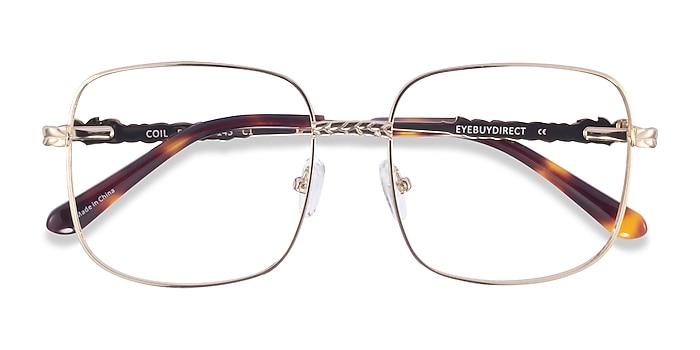 Gold Coil -  Metal Eyeglasses