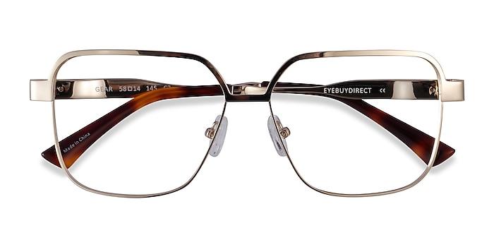 Gold Gear -  Metal Eyeglasses