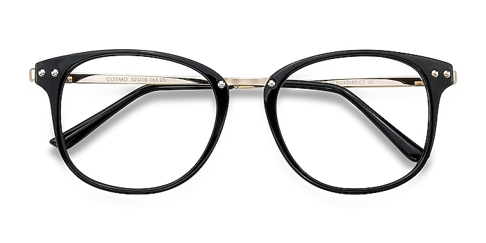 Black Cosmo -  Plastic, Metal Eyeglasses