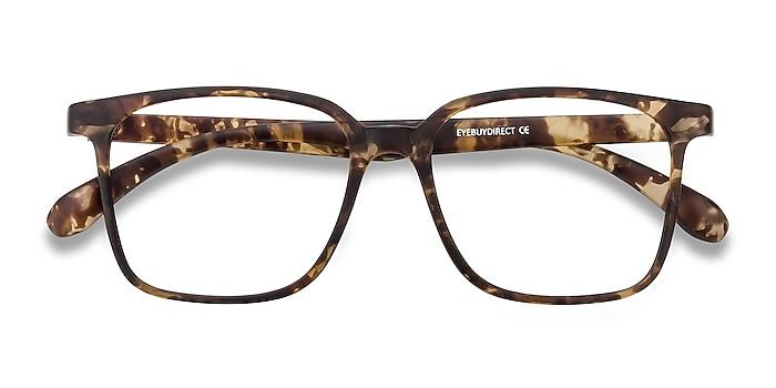 Matte Tortoise Magnus -  Lightweight Plastic Eyeglasses