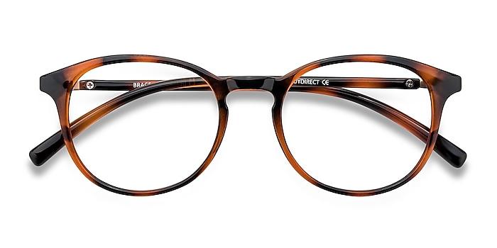 Tortoise Brace -  Lightweight Plastic Eyeglasses