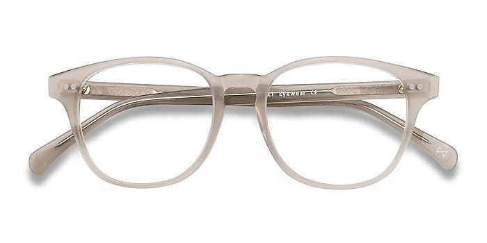 Clear Gray Lucid -  Vintage Acetate Eyeglasses