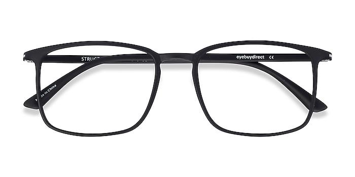 Black Structure -  Lightweight Plastic Eyeglasses