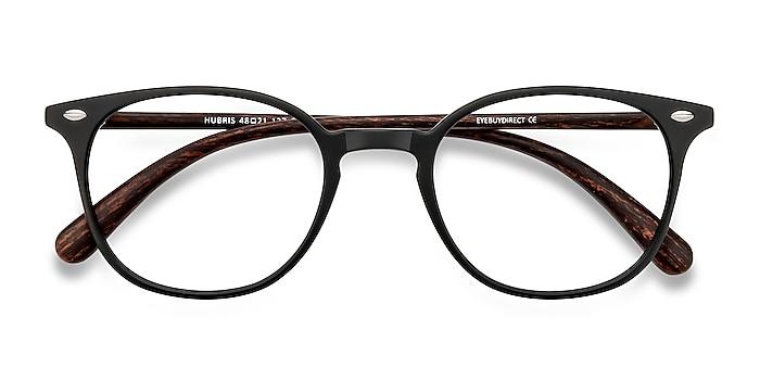 Matte Black Hubris -  Lightweight Plastic Eyeglasses