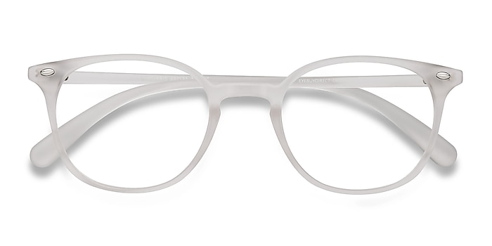 Matte Clear Hubris -  Lightweight Plastic Eyeglasses