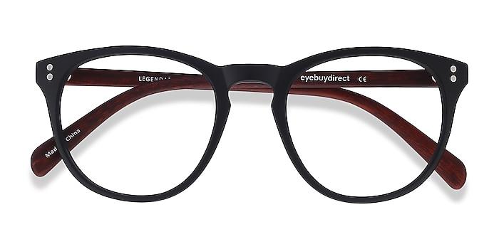 Black & Brown Legendary -  Lightweight Plastic Eyeglasses