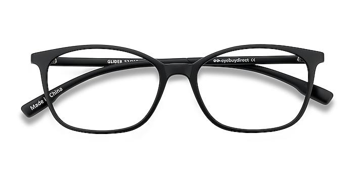 Black Glider -  Lightweight Plastic Eyeglasses