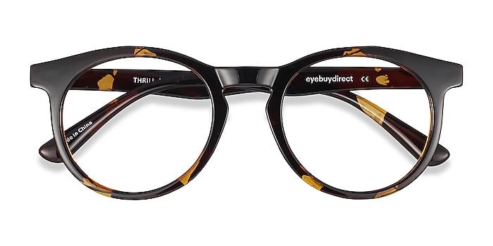 Tortoise Thrill -  Lightweight Plastic Eyeglasses