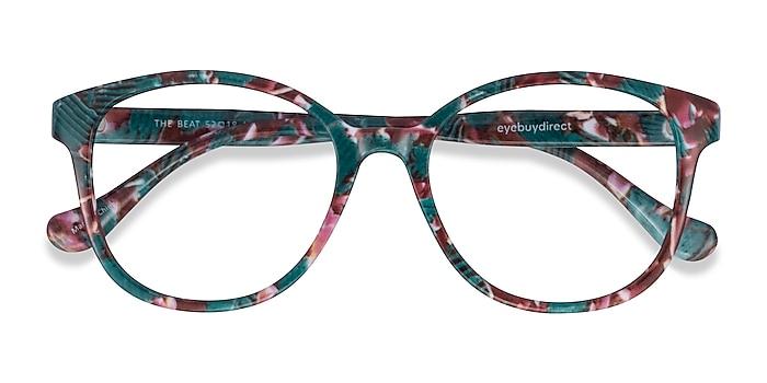 Floral The Beat -  Lightweight Plastic Eyeglasses