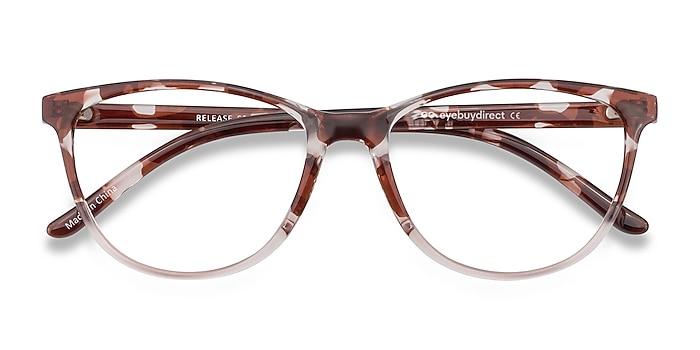 Floral Release -  Lightweight Plastic Eyeglasses