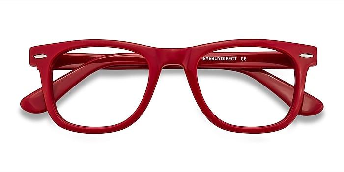 Raspberry Blizzard -  Geek Acetate Eyeglasses
