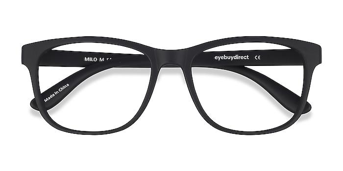 Matte Black Milo -  Geek Plastique Lunettes de vue