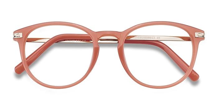 Pink Daphne -  Plastic, Metal Eyeglasses