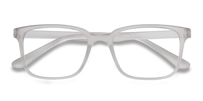 Matte Clear November -  Lightweight Plastic Eyeglasses