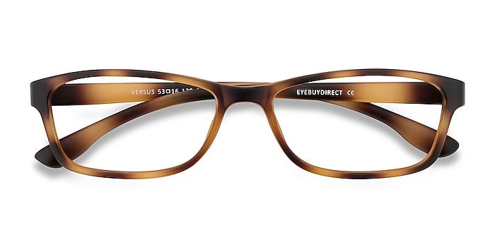 Matte Tortoise Versus -  Lightweight Plastic Eyeglasses
