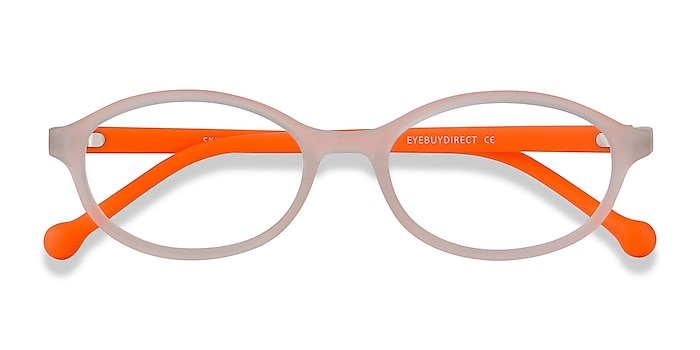 Matte Clear Skipper -  Lightweight Plastic Eyeglasses