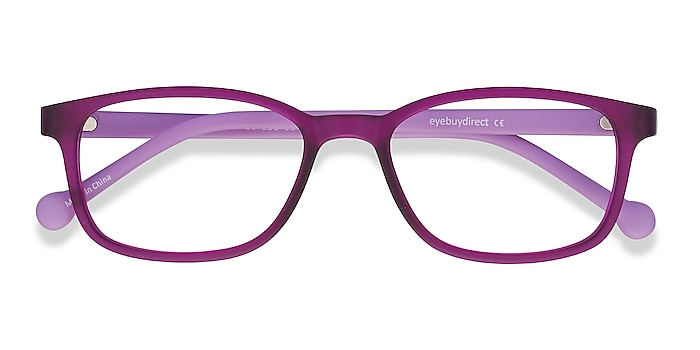 Purple Posie -  Lightweight Plastic Eyeglasses