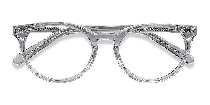Gray Clear Morning -  Acetate Eyeglasses
