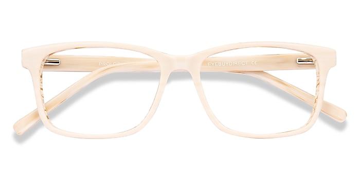 Cream Prologue -  Acetate Eyeglasses