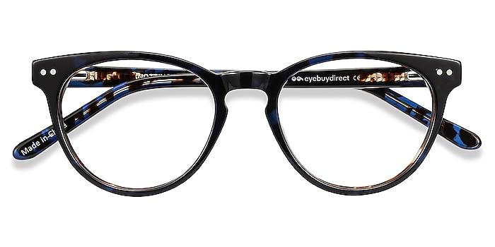 Blue Floral Notting Hill -  Fashion Acetate Eyeglasses