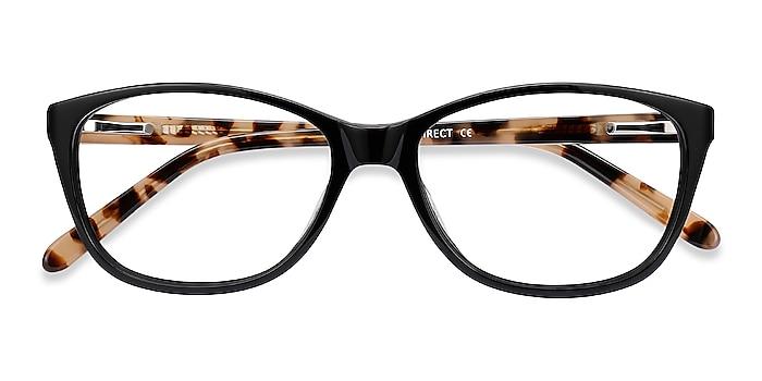 Black Masque -  Acetate Eyeglasses