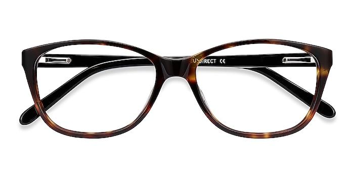 Tortoise Masque -  Acetate Eyeglasses