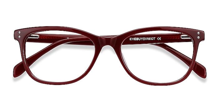 Burgundy Prodigy -  Acetate Eyeglasses