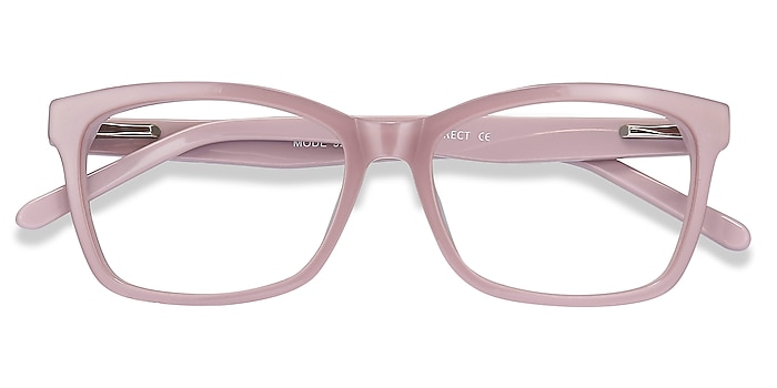 Matte Pink Mode -  Acetate Eyeglasses