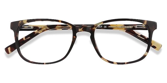 Tortoise Emblem -  Acetate Eyeglasses