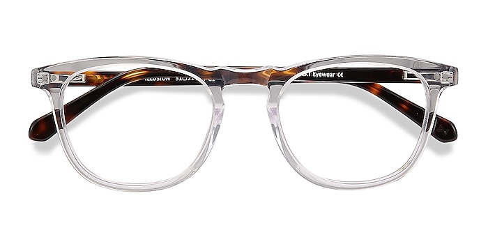 Translucent Illusion -  Vintage Acetate Eyeglasses