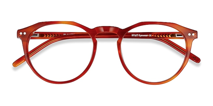 Brown Tortoise Planete -  Vintage Acetate Eyeglasses