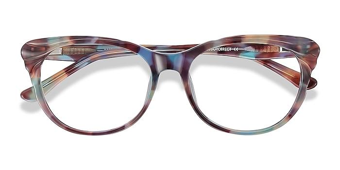 Floral Mariposa -  Vintage Acetate Eyeglasses