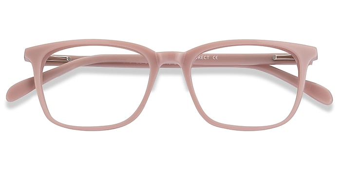 Pink Etched -  Acetate Eyeglasses
